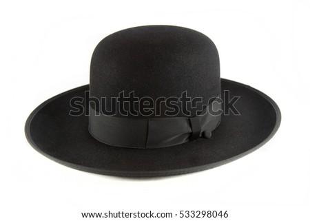 Hassidic hat isolated on white background #533298046