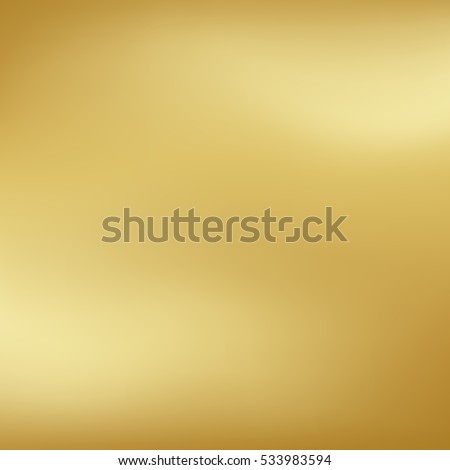 Vector gold blurred gradient style background. Abstract smooth colorful illustration, social media wallpaper. Royalty-Free Stock Photo #533983594
