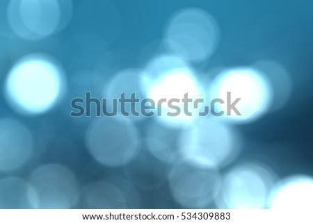 Bokeh Background or Overlay, Blue. Royalty-Free Stock Photo #534309883