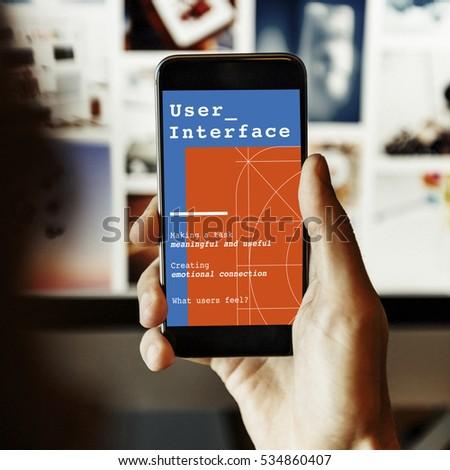 Web Design User Interface Concept #534860407