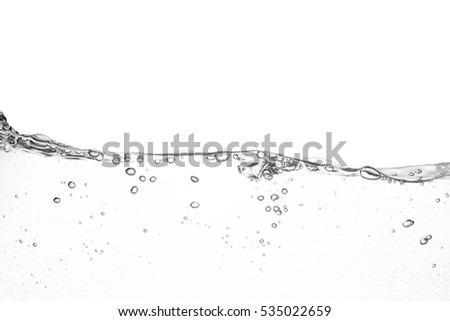 Clear water waves white background #535022659