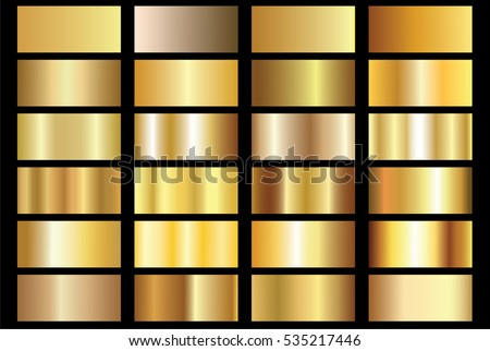 Gold background texture vector icon seamless pattern. Light, realistic, elegant, shiny, metallic and golden gradient illustration. Mesh material. Design for frame, ribbon, coin, abstract Royalty-Free Stock Photo #535217446