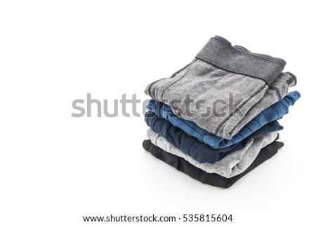 men underwear isolated on white background #535815604