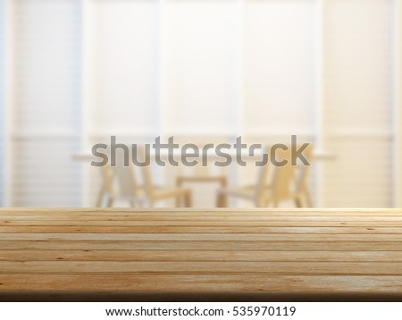 closeup top wood table with Blur Background #535970119
