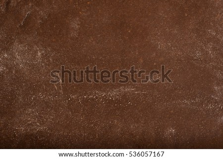 Texture of chocolate pastry for cookies. #536057167
