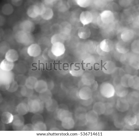 Christmas Background. Golden Holiday Abstract Glitter Defocused Background With Blinking Stars. Blurred Bokeh #536714611