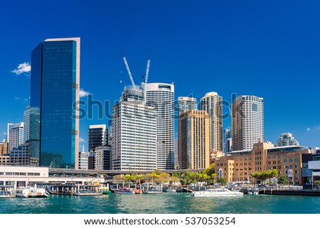 Skyline of Circular quay Royalty-Free Stock Photo #537053254