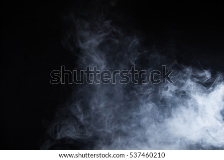Smoke on black background #537460210