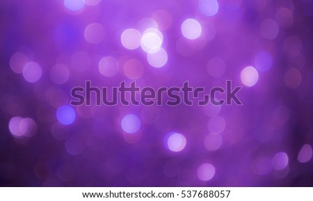 Purple bokeh abstract background