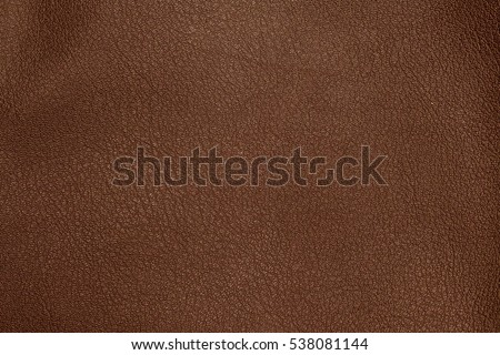Close up of brown leather background or texture Royalty-Free Stock Photo #538081144