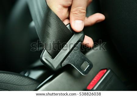 Car seat belt/safe Royalty-Free Stock Photo #538826038