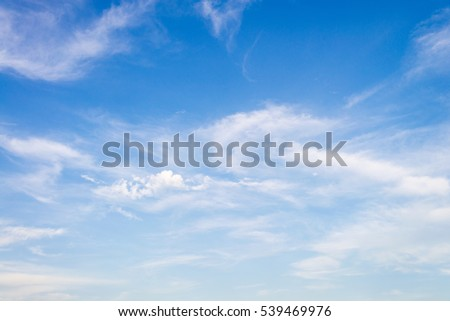 blue sky with white cloud background #539469976