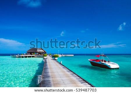 beach in Maldives #539487703