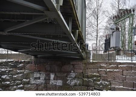 Bridge closeup. Finland. #539714803