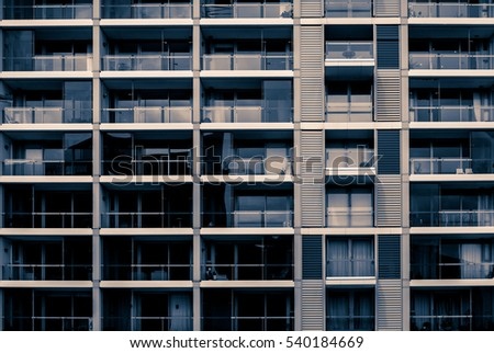 windows of business building #540184669