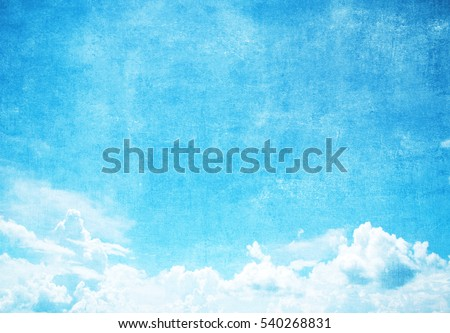 Grunge blue sky background with space for text #540268831
