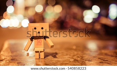 Danbo is lonely #540858223
