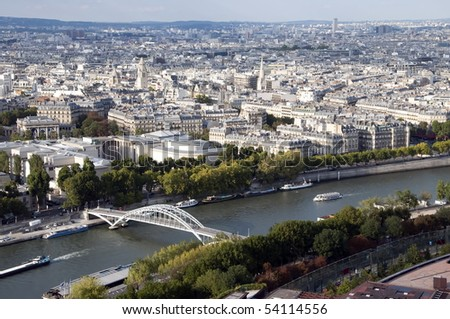 The Seine is a slow-flowing major river  and commercial waterway within the regions of Ile-de-France and Haute-Normandie in France. It is a tourist attraction #54114556