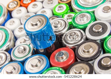 Composition with alkaline batteries #541228624
