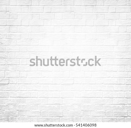 Abstract weathered texture stained old stucco light gray and aged paint white brick wall background in rural room, grungy rusty blocks of stonework technology color diagonal architecture wallpaper #541406098