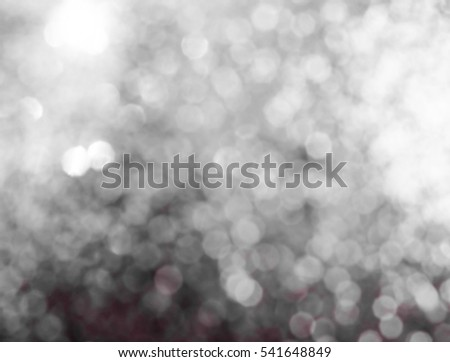 Christmas Background. Golden Holiday Abstract Glitter Defocused Background With Blinking Stars. Blurred Bokeh #541648849