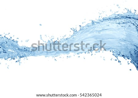 Water splash,water splash isolated on white background,water   #542365024