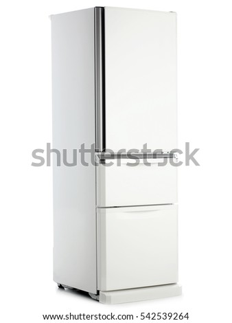 refrigerator on a white background #542539264