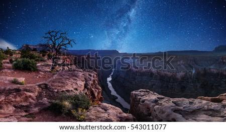 Grand Canyon National Park Royalty-Free Stock Photo #543011077