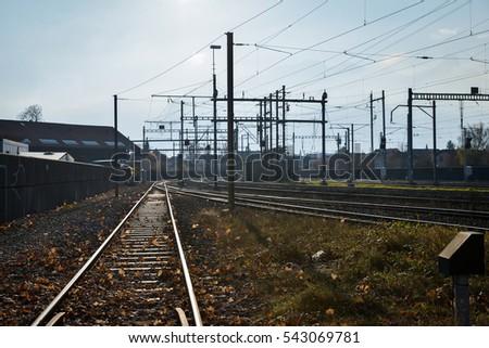 Railway station #543069781