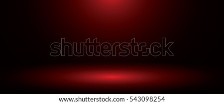 Abstract red background - vector
