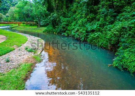 Landscape view of Phu Sang national park, Thailand. #543135112