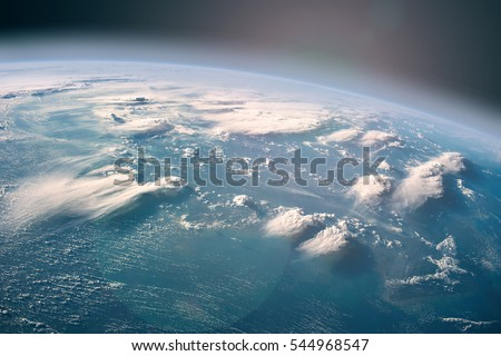 """Earth observation from the outer space. """"The elements of this image furnished by NASA"""" Royalty-Free Stock Photo #544968547"""