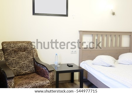 Interior of a hotel room #544977715
