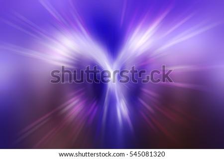 Abstract fractal violet background. Magic illustration #545081320