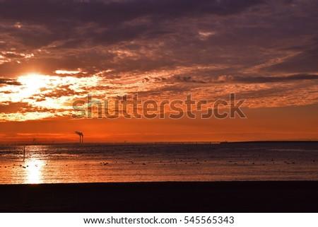sunset, sunrise. #545565343