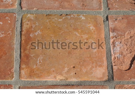 Red Square Bricks #545591044