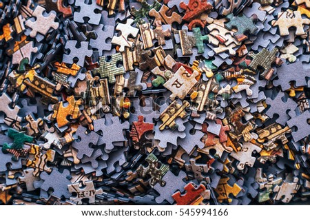 Jigsaw puzzle color background #545994166