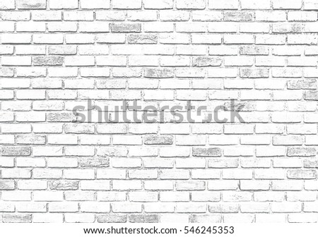 White brick wall texture for background. #546245353