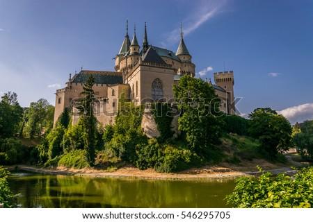 Bojnicky castle in Slovakia #546295705