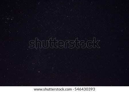 beautiful night sky #546430393
