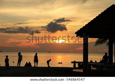 Small Beach - A Ban Amphur Beach is little beach located at Ban Amphure, Chonburi District, Thailand. This beach is so small but so quite. Good to visit. #546864547