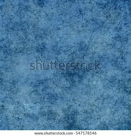 Blue designed grunge texture. Vintage background with space for text or image #547178146