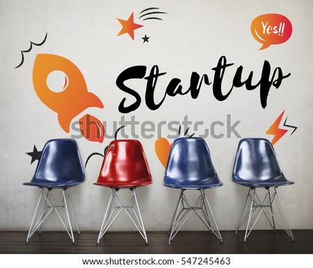 Startup Business Progress Strategy Enterprise  Royalty-Free Stock Photo #547245463