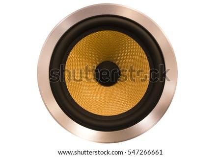 isolated speaker #547266661