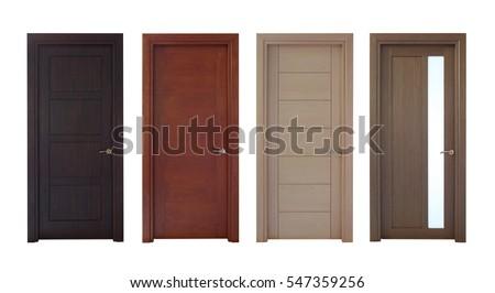 Isolated Doors Royalty-Free Stock Photo #547359256