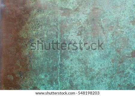 background oxidised copper sheet #548198203