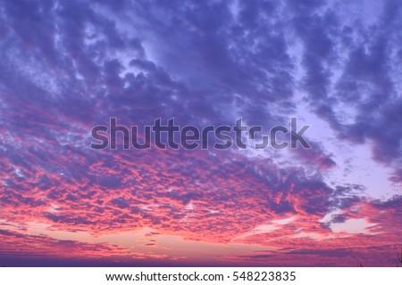sky sunset #548223835