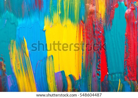 Abstract art background. Hand-painted #548604487