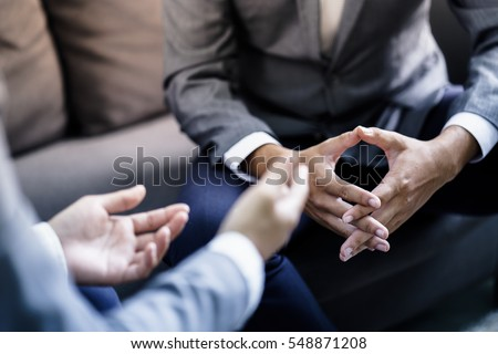 Business People Talking Discussing Concept Royalty-Free Stock Photo #548871208