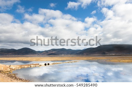 Napa Hai lake in Shangri la , China #549285490